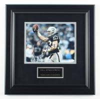 Bill Romanowski Signed Raiders 17.5x17.5 Custom Framed Photo (JSA COA) at PristineAuction.com