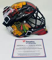 Marc-Andre Fleury Signed Blackhawks Mini Goalie Mask (Fanatics Hologram) at PristineAuction.com