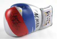 """Manny Pacquiao Signed Boxing Gloves Inscribed """"Pacman"""" (Pacquiao COA) at PristineAuction.com"""