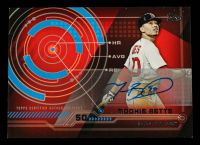 Mookie Betts 2014 Topps Trajectory Autographs #TAMBE UPD at PristineAuction.com