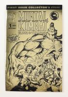 "1994 ""Mortal Kombat: Blood & Thunder"" Vol. 1 Issue #1A Malibu Comic Book at PristineAuction.com"