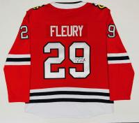 Marc-Andre Fleury Signed Blackhawks Jersey (Fanatics Hologram) at PristineAuction.com