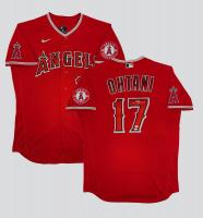 Shohei Ohtani Signed Angels Jersey (MLB Hologram & Fanatics Hologram) at PristineAuction.com