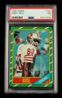 Jerry Rice 1986 Topps #161 RC (PSA 7) at PristineAuction.com