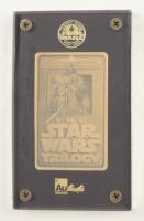 Star Wars Triology LE 1996 Ingot 24Kt Gold Card at PristineAuction.com