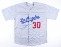 """Maury Wills Signed Jersey Inscribed """"7x All-Star"""" (PA Hologram) at PristineAuction.com"""