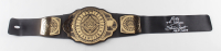 """Ricky """"The Dragon"""" Steamboat Signed WWE World Heavyweight Champion Belt Inscribed """"HOF 2009"""" (JSA COA) at PristineAuction.com"""