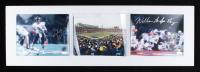 "William ""Fridge"" Perry & Jim McMahon Signed Bears 12x36 Custom Matted Photo Display (JSA COA & Steiner COA) at PristineAuction.com"