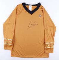 """William Shatner Signed """"Star Trek"""" Replica Uniform Shirt (JSA ALOA) at PristineAuction.com"""