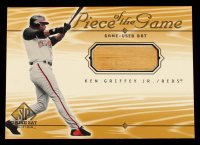 Ken Griffey Jr. 2001 SP Game Bat Edition Piece of the Game #KG at PristineAuction.com