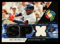 Ken Griffey Jr. 2006 SPx Winning Materials #KG at PristineAuction.com