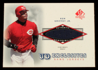 Ken Griffey Jr. 2001 SP Authentic UD Exclusives Game Jersey #KG at PristineAuction.com
