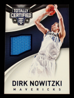 Dirk Nowitzki 2014-15 Totally Certified Jerseys Blue #31 #15/199 at PristineAuction.com