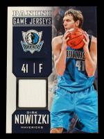 Dirk Nowitzki 2013-14 Panini Game Jerseys #31 at PristineAuction.com