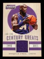 Shaquille O'Neal 2014-15 Panini Threads Century Greats Threads #9 #160/199 at PristineAuction.com