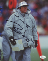 """Bill Snyder Signed Kansas State Wildcats 8x10 Photo Inscribed """"Thank You"""" (JSA COA) at PristineAuction.com"""