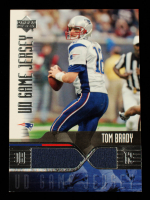Tom Brady 2004 Upper Deck Game Jerseys #TBGJ at PristineAuction.com