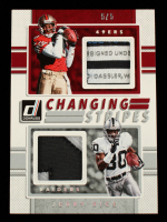 Jerry Rice 2017 Donruss Changing Stripes Jerseys Prime #12 #5/5 at PristineAuction.com