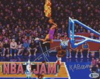 "Tim Kitzrow Signed ""NBA Jam"" 8x10 Photo Inscribed ""Kaboom"" (PSA COA) at PristineAuction.com"