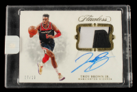 Troy Brown Jr. 2018-19 Panini Flawless Signature Prime Materials Gold #3 #7/10 at PristineAuction.com