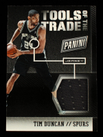 Tim Duncan 2014-15 Panini The National Tools of the Trade Jersey #2 at PristineAuction.com