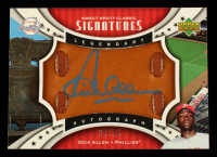 Dick Allen 2007 Sweet Spot Classic Signatures Leather Blue Ink #SPSDA #27/75 at PristineAuction.com
