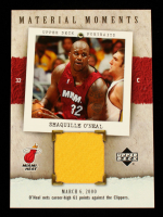 Shaquille O'Neal 2005-06 UD Portraits Material Moments #SO at PristineAuction.com