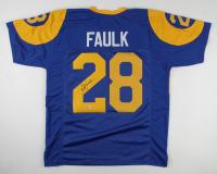 Marshall Faulk Signed Jersey (Beckett Hologram) at PristineAuction.com