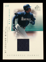 Ken Griffey Jr. 2001 SP Game Used Edition Authentic Fabric #KGM at PristineAuction.com