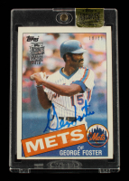 George Foster 2015 Topps Archives Signature Series George Foster #1 #18/68 at PristineAuction.com