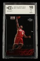 LeBron James 2003-04 Upper Deck #301 RC (BCCG 10) at PristineAuction.com