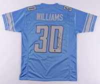 Jamaal Williams Signed Jersey (Beckett Hologram) at PristineAuction.com