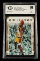 Kevin Durant 2007-08 Fleer Hot Prospects Notable Newcomers #NN-1 (BCCG 10) at PristineAuction.com