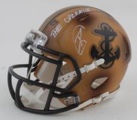 "Robert O'Neill Signed Navy Midshipmen Mini Helmet Inscribed ""The Operator"" (PSA COA) at PristineAuction.com"