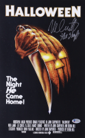 """Nick Castle Signed """"Halloween"""" 11x17 Photo Inscribed """"The Shape"""" (Beckett COA) at PristineAuction.com"""