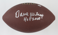 """Dave Wilcox Signed NFL Football Inscribed """"HOF 2000"""" (Schwartz Sports COA) at PristineAuction.com"""