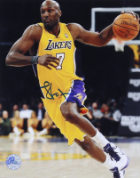 Lamar Odom Signed Lakers 8x10 Photo (Pro Player Hologram) at PristineAuction.com