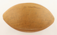 1967 Packers Team Signed Football Signed By (33) with Vince Lombardi, Bart Starr, Forrest Gregg, Willie Davis (Beckett LOA) (See Description) at PristineAuction.com