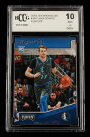Luka Doncic 2018-19 Panini Chronicles #183 Playoff (BCCG 10) at PristineAuction.com