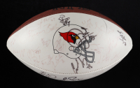 1998 Cardinals Team Signed Football Signed By (54) with Pat Tillman, Aeneas Williams, Eric Metcalf, Rob Moore (Beckett LOA) (See Description) at PristineAuction.com