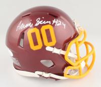 Antonio Gibson Signed Football Team Speed Mini Helmet (JSA COA) at PristineAuction.com