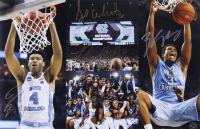 Isaiah Hicks, Kennedy Meeks, Stilman White & Brandon Robinson Signed North Carolina Tar Heels 11x17 Photo (Legends COA) at PristineAuction.com