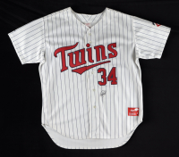 Kirby Puckett Signed Twins Jersey (JSA LOA) (See Description) at PristineAuction.com