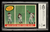 Willie Mays 1959 Topps #464 (BCCG 9) at PristineAuction.com