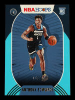 Anthony Edwards 2020-21 Hoops Teal #216 #14/70 at PristineAuction.com
