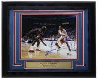 Allen Iverson Signed 76ers 11x14 Custom Framed Photo Display (PSA COA) at PristineAuction.com