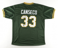 Jose Canseco Signed Jersey (Beckett Hologram) at PristineAuction.com