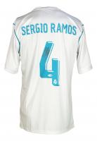 Sergio Ramos Signed Real Madrid Adidas Jersey (Beckett COA) at PristineAuction.com