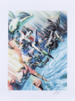 """Alex Ross Signed LE """"Protectors of the Universe"""" 18x24 Lithograph (Ross COA) at PristineAuction.com"""