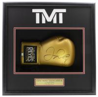 Floyd Mayweather Jr. Signed 18x19x4 Custom Framed Cleto Reyes Boxing Glove Shadow Box Display (PSA COA) at PristineAuction.com